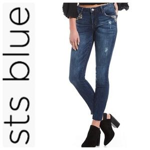 STS Blue Emma Ankle Skinny Jeans, 28 - NWT